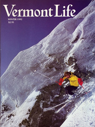 Cover Vermont Life Winter 1992 Justin Mead